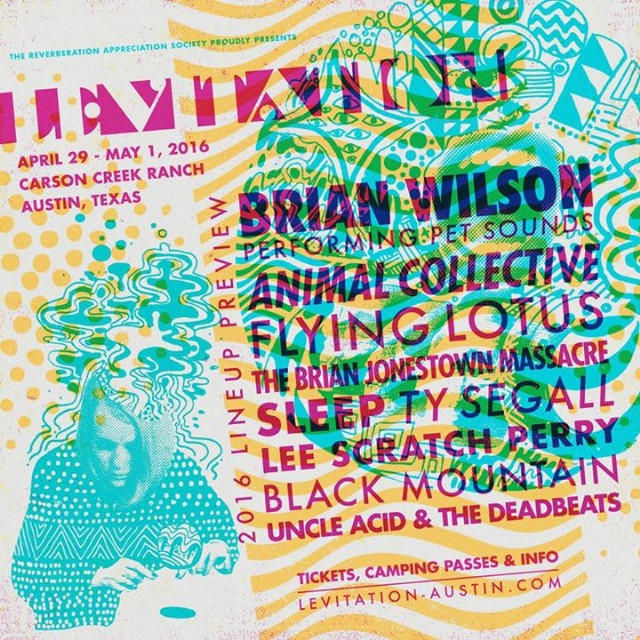 Levitation Fest 2016 Lineup Has <em>Pet Sounds</em>, AnCo, FlyLo