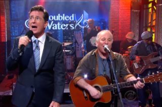 Authentic Paul Simon Tribute Closes Out <em>Stephen Colbert</em>&#8217;s First Week