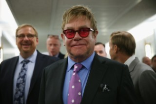 Elton John Arranges Sitdown With Vladimir Putin To Discuss Gay Rights In Russia
