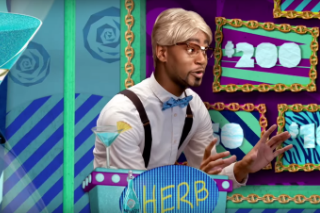 Watch Cam&#8217;ron Play Three Roles On The Fake Game Show <em>Word Up</em>