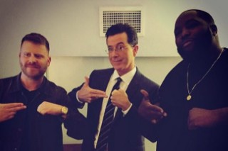 Watch Run The Jewels &#038; TV On The Radio Perform &#8220;Angel Duster&#8221; On <em>Colbert</em>