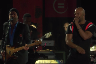 Watch Sting Perform Police Songs With Common At Global Citizen Fest