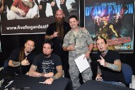 How Five Finger Death Punch Got Huge By Writing Songs For Soldiers