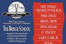 Bridge School Benefit 2015 Lineup