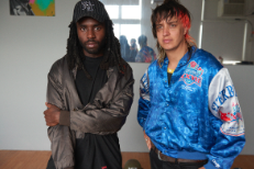 Dev Hynes and Julian Casablancas