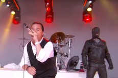 Watch Faith No More Bring Tuxedoes, A Gimp, And A Megaphone To <em>Kimmel</em>