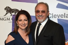 Gloria Estefan and Emilion Estefan