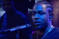 Watch Kendrick Lamar Absolutely Tear Down <em>The Late Show With Stephen Colbert</em>