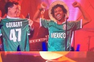 Watch Raury Follow Stephen Colbert's Donald Trump Interview By Performing In An Anti-Trump Jersey