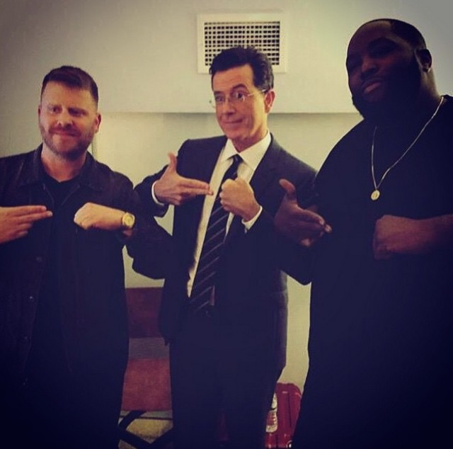 Run The Jewels and Stephen Colbert