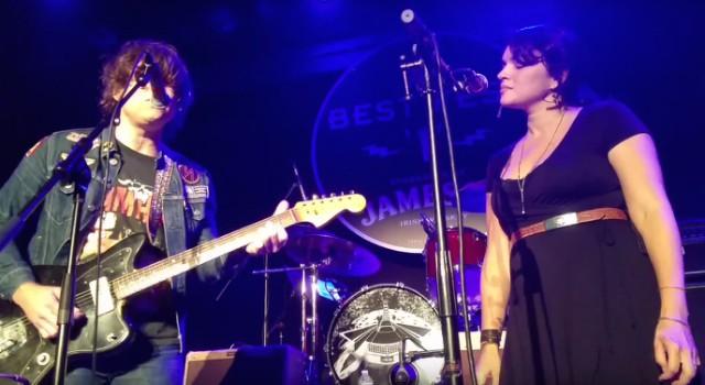 Ryan Adams and Norah Jones at Neil Fest