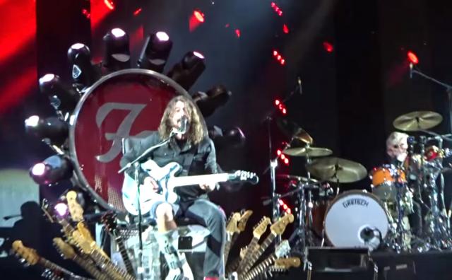 "Watch Foo Fighters Cover ""Under Pressure"" With Queen's Roger Taylor & Led Zeppelin's John Paul Jones"