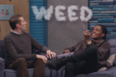 Watch A$AP Rocky Download A Grammy On Comedy Bang! Bang!