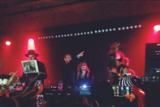 DJ Win Butler Brought Out Madonna & Diplo In Montreal Last Night