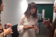 """Watch The Staves Cover Joni Mitchell's """"A Case Of You"""" In Pre-Show Warmup Earlier Tonight"""