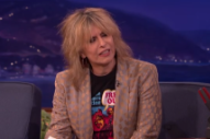 Watch Chrissie Hynde Talk About Punk&#8217;s Inception On <em>Conan</em>