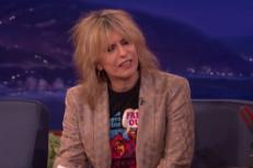 Watch Chrissie Hynde Talk About Punk&#8217;s Inception On <em>Conan</em>
