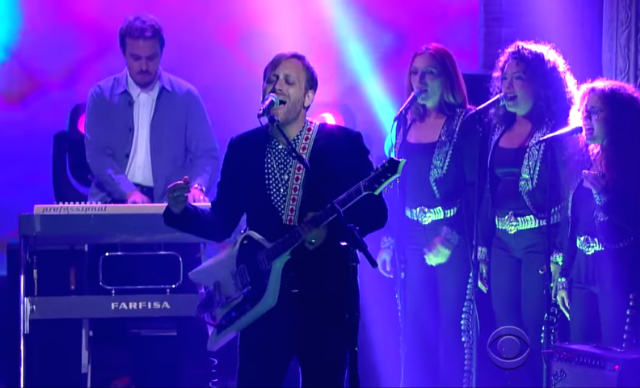"Watch The Arcs Perform ""Outta My Mind"" On Colbert"