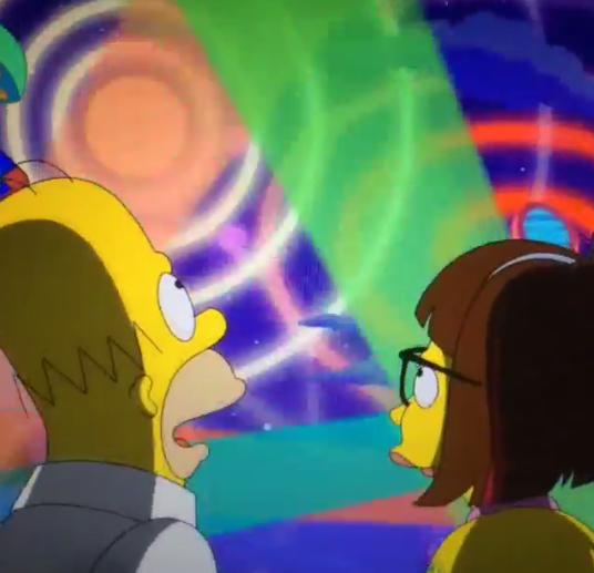 Homer Simpson Lena Dunham Simpsons Spacemen 3 Sonic Boom
