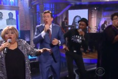 Stephen Colbert and musical guests