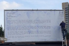 Steve Albini billboard