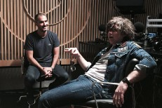 Zane Lowe and Ryan Adams