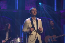 "Watch Baio Perform ""Sister Of Pearl"" On Seth Meyers"