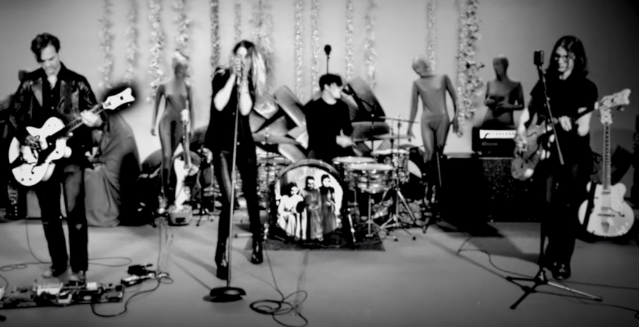 "Watch The Dead Weather Perform ""I Feel Love (Every Million Miles)"" Live At Third Man Records"