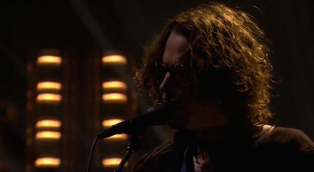 "Watch Chris Cornell Perform ""Nearly Forgot My Broken Heart"" On Fallon"