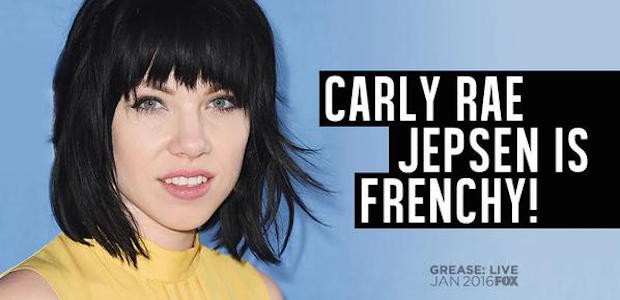 Carly Rae Jepsen Cast In Fox's Live Grease Musical