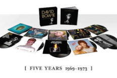 Win David Bowie's FIVE YEARS 1969 - 1973 13 LP Vinyl Box Set