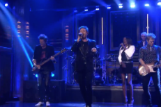 "Watch Duran Duran Perform ""Pressure Off"" On Fallon"