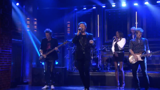 "Watch Duran Duran Perform ""Pressure Off"" On Fallon"