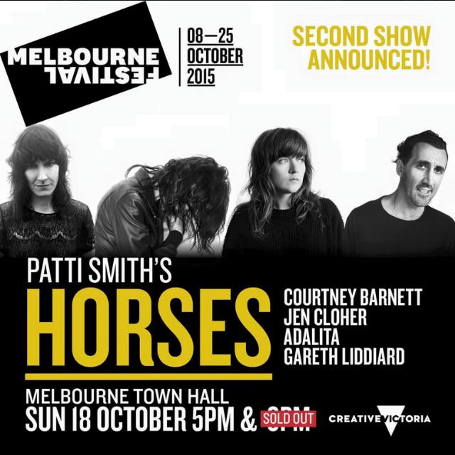 Courtney Barnett Playing Australian Tribute To Patti Smith's Horses