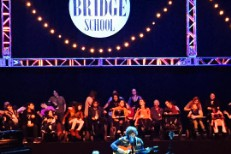 Watch Ryan Adams Improvise A Song About Shirtless Bridge School Concertgoer