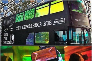 U2 & Apple Launch The Experience Bus