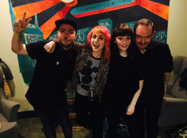 Chvrches and Hayley Williams