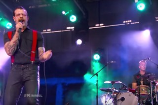 Watch Eagles Of Death Metal Rip Through Two Songs On <em>Kimmel</em>