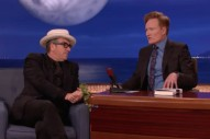 Watch Elvis Costello Talk Career Embarrassments On <em>Conan</em>