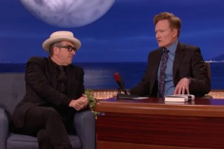 Watch Elvis Costello Talk Career Embarrassments On <em>Conan</em>