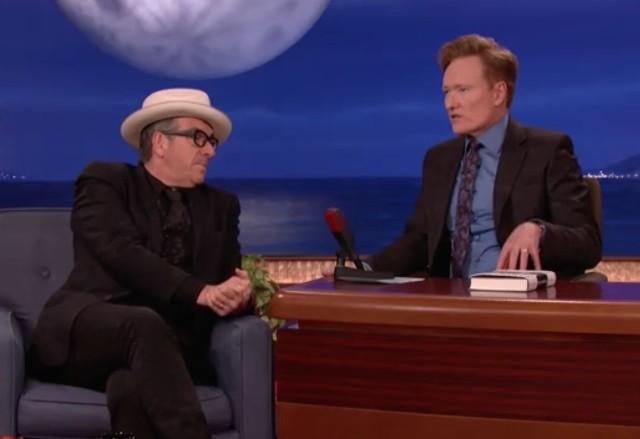 Elvis Costello on Conan