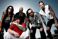 "Five Finger Death Punch Lead ""Fuck Kanye"" Chant For Some Reason"