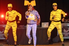 Santigold Performs At New Orleans Elementary School