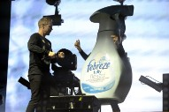 Watch Jack Ü Dance With A Giant Febreze Bottle At Voodoo Fest