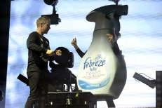 Watch Jack Ü Dance With A Giant Febreze Bottle At Voodoo Fest