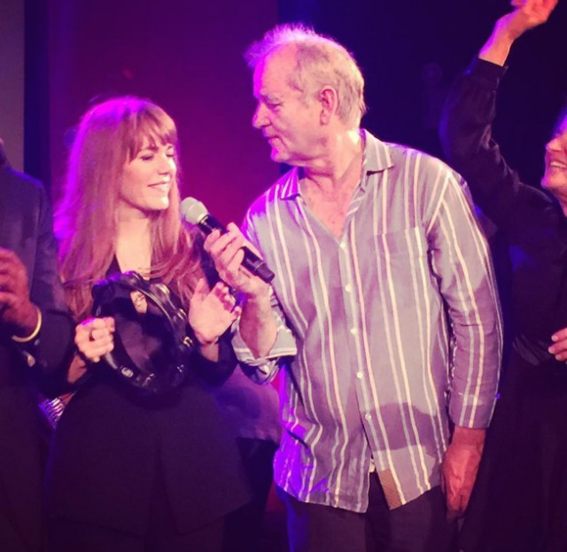 Jenny Lewis and Bill Murray