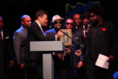 Jimmy Fallon and the Roots