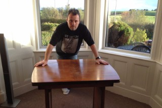 Joy Division Fan Auctioning Off Ian Curtis' Kitchen Table Again