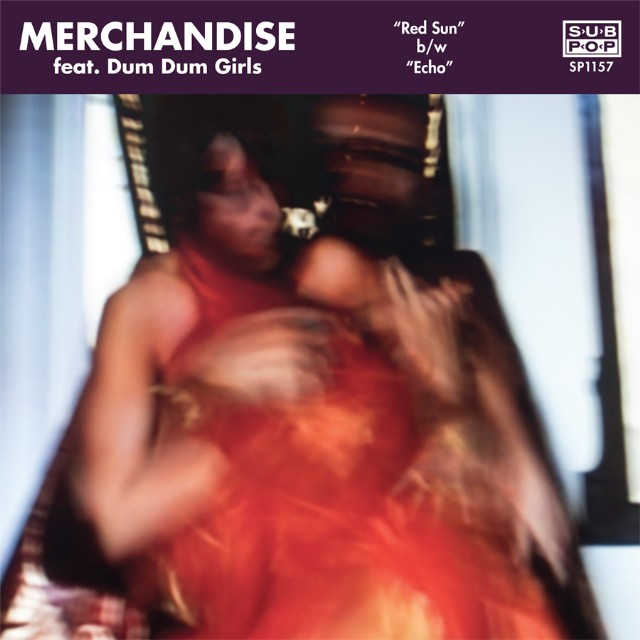 """Merchandise - """"Red Sun"""" (Feat. Dum Dum Girls) (Stereogum Premiere)"""