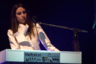 "Watch PJ Harvey Debut ""Chain Of Keys"" & ""Ministry Of Social Affairs"" In London"